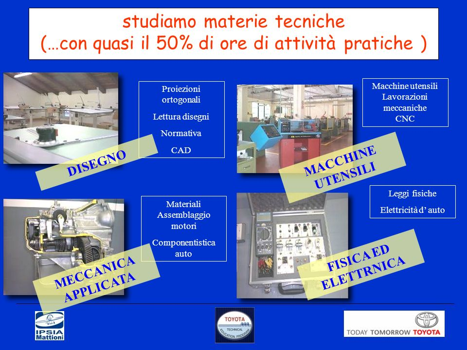 studiamo materie tecniche