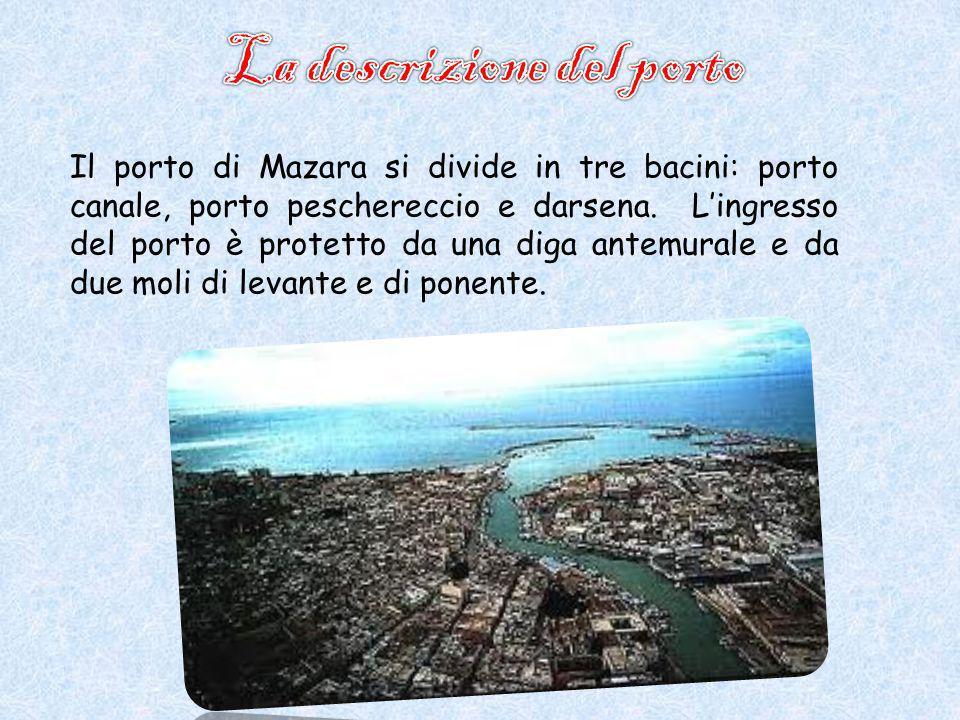 La descrizione del porto