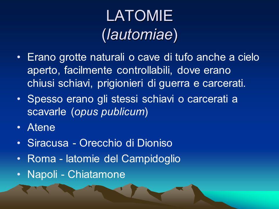 LATOMIE (lautomiae)