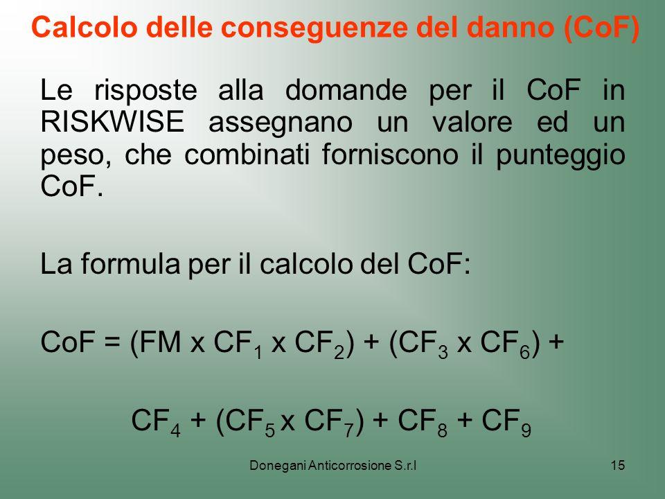Calcolo delle conseguenze del danno (CoF)
