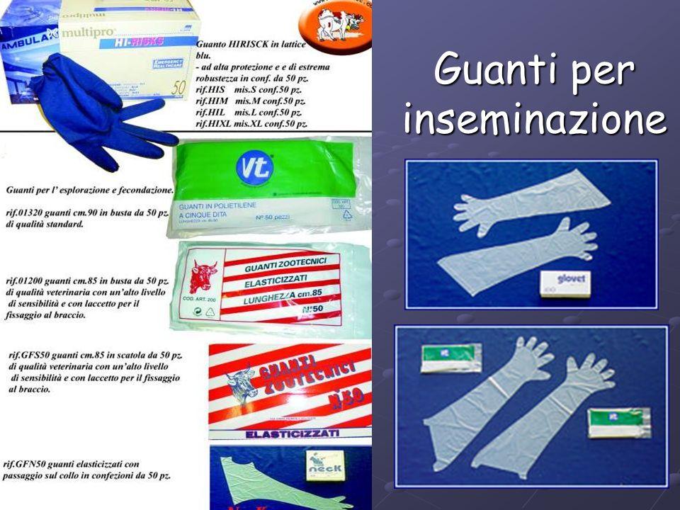 Guanti per inseminazione
