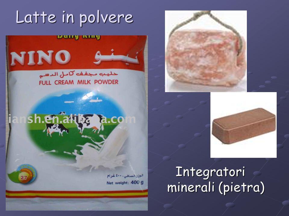 Integratori minerali (pietra)