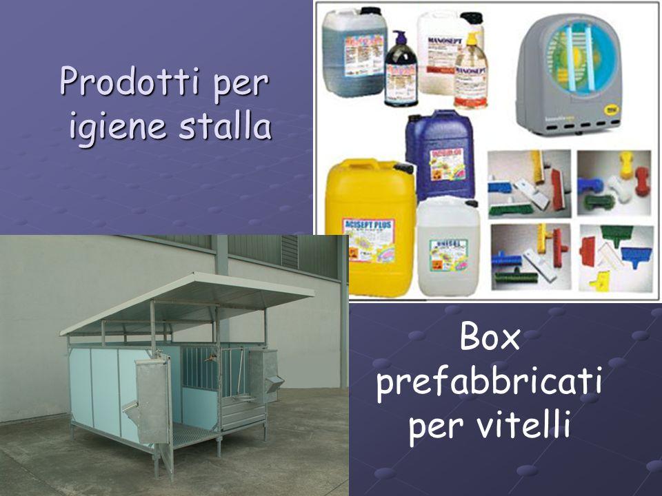 Prodotti per igiene stalla