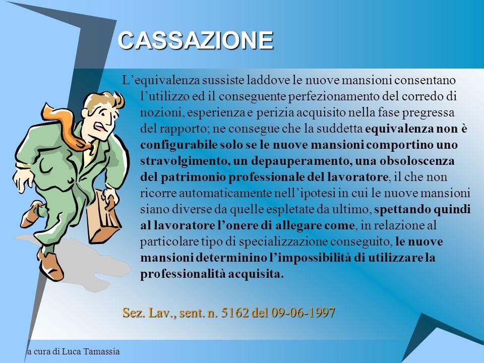 CASSAZIONE