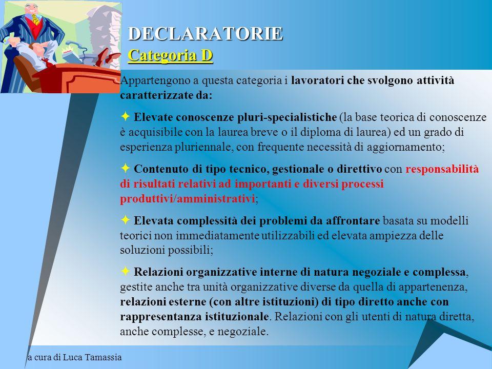DECLARATORIE Categoria D