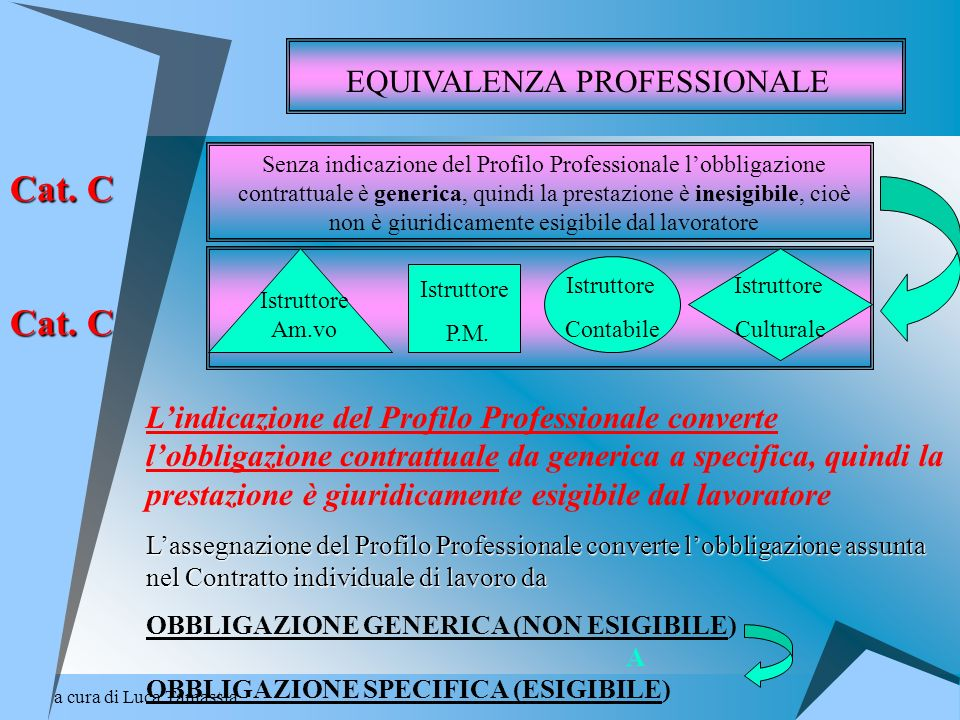 Cat. C EQUIVALENZA PROFESSIONALE