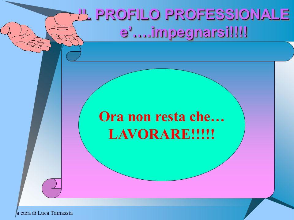 IL PROFILO PROFESSIONALE e'….impegnarsi!!!!