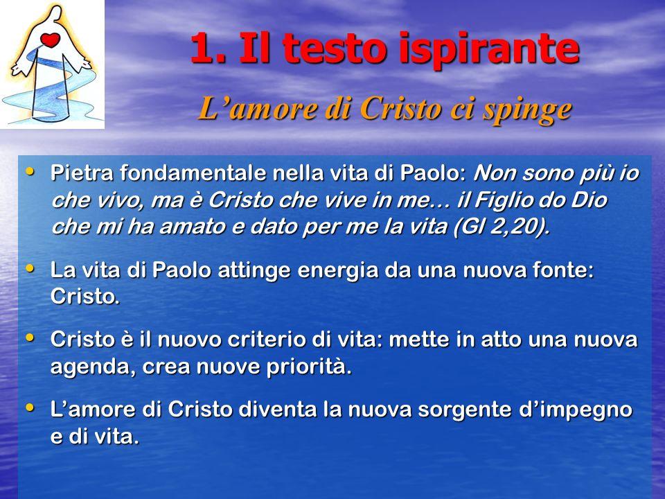 L'amore di Cristo ci spinge