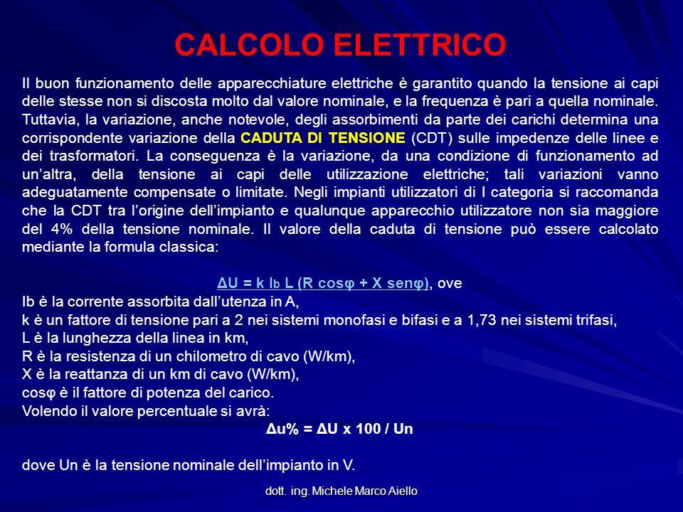 CALCOLO ELETTRICO