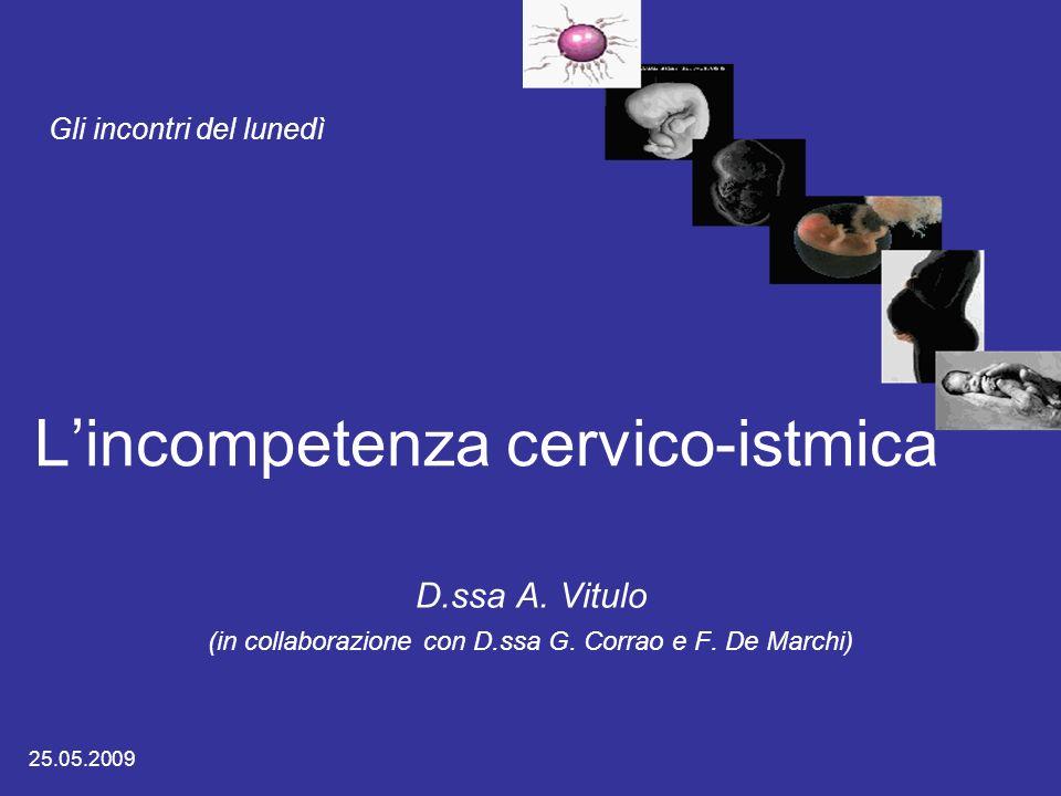L'incompetenza cervico-istmica