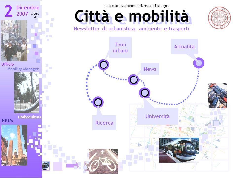 2 Città e mobilità Città e mobilità