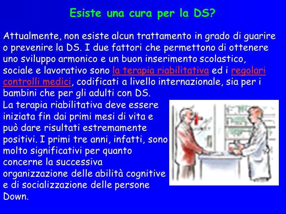 Esiste una cura per la DS
