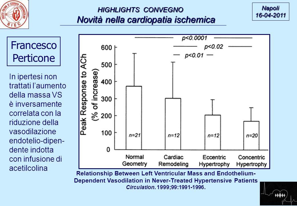 Francesco Perticone In ipertesi non trattati l'aumento della massa VS