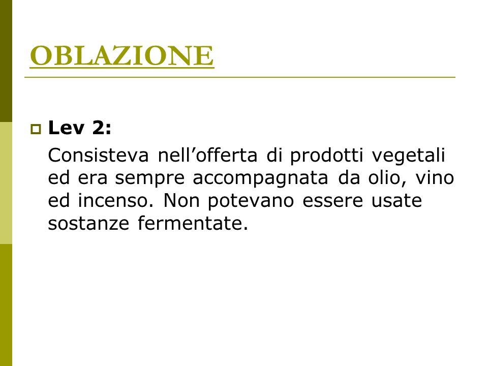 OBLAZIONE Lev 2:
