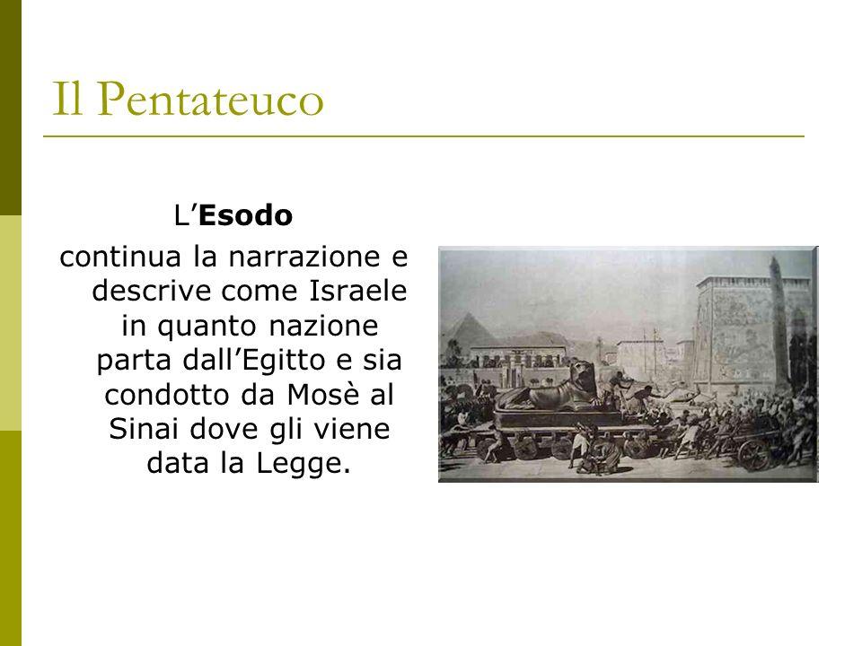 Il Pentateuco L'Esodo.