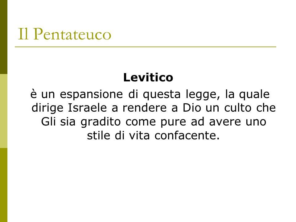 Il Pentateuco Levitico