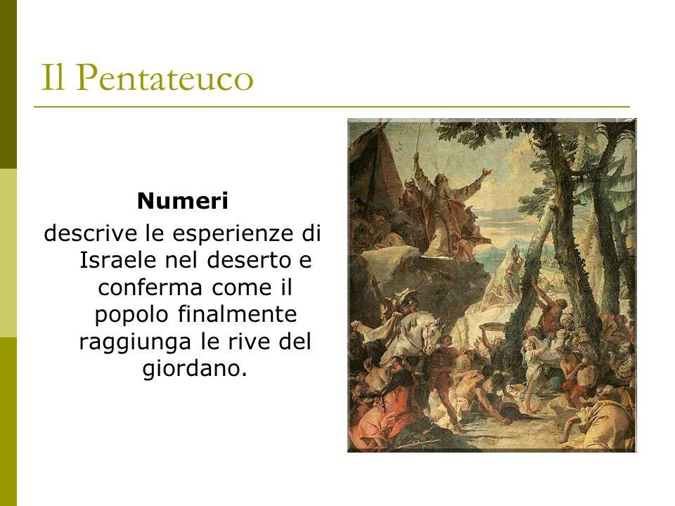 Il Pentateuco Numeri.