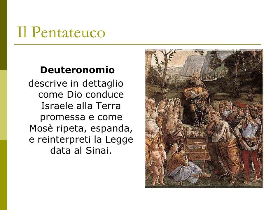 Il Pentateuco Deuteronomio