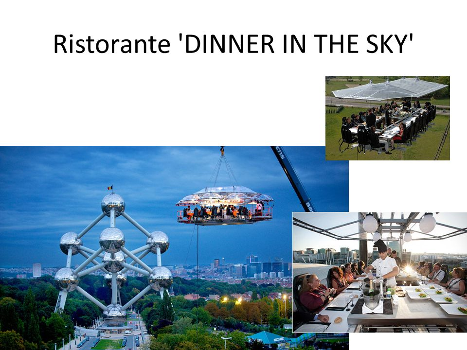 Ristorante DINNER IN THE SKY