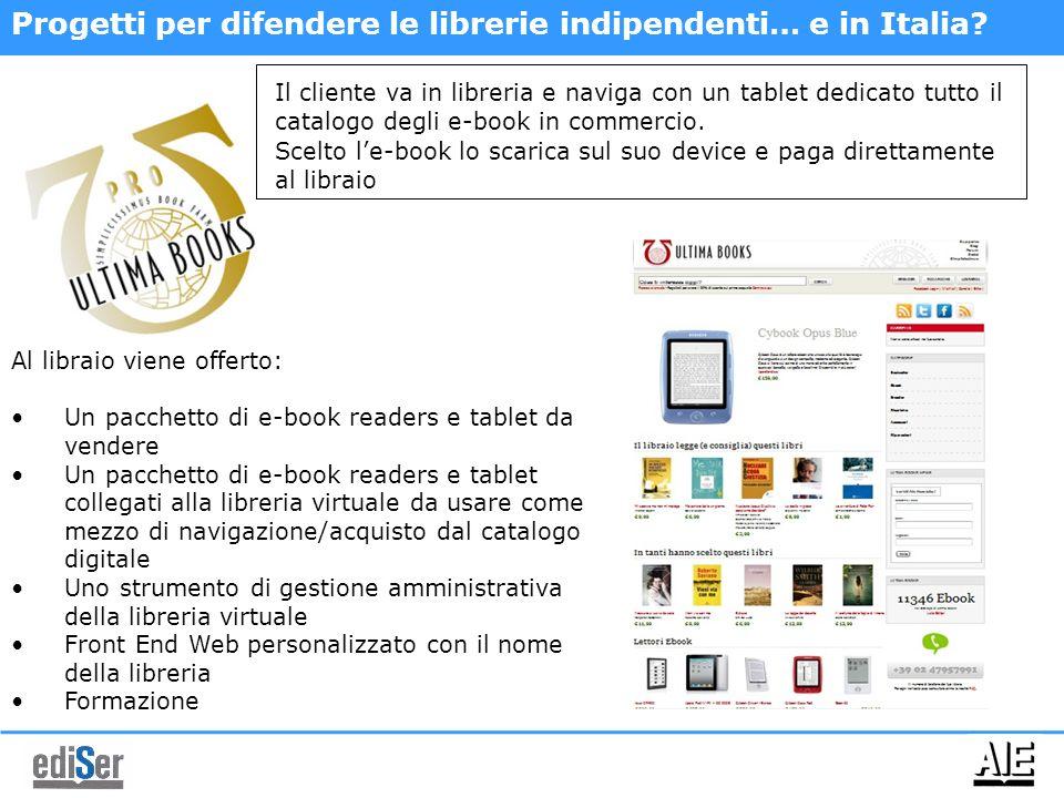 Progetti per difendere le librerie indipendenti… e in Italia