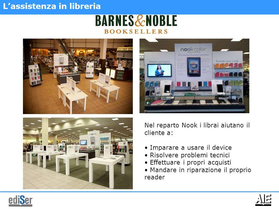 L'assistenza in libreria