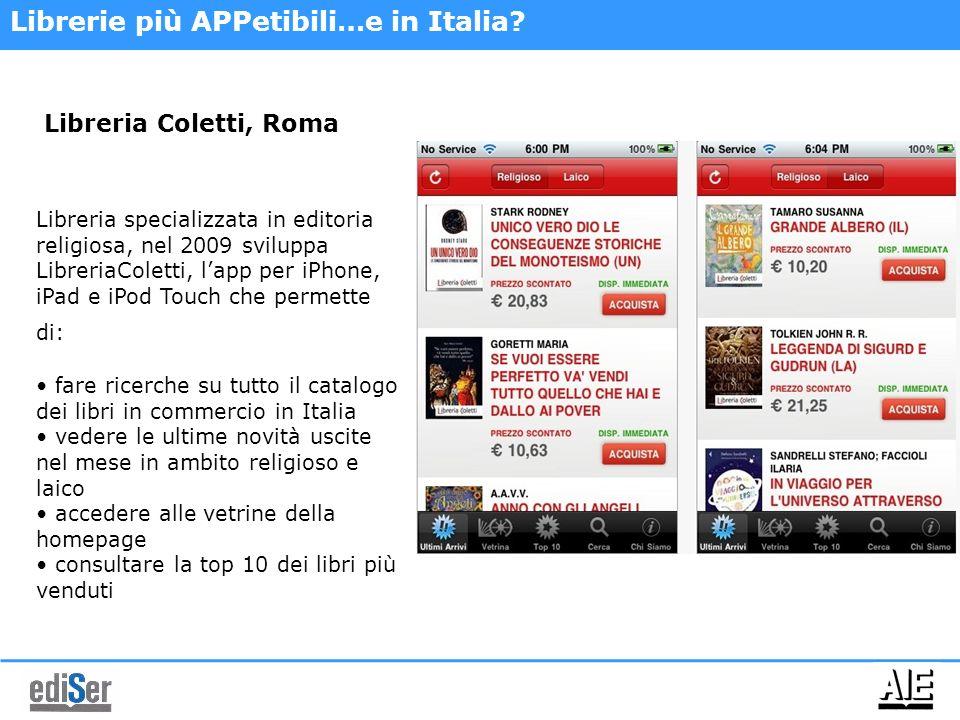Librerie più APPetibili…e in Italia