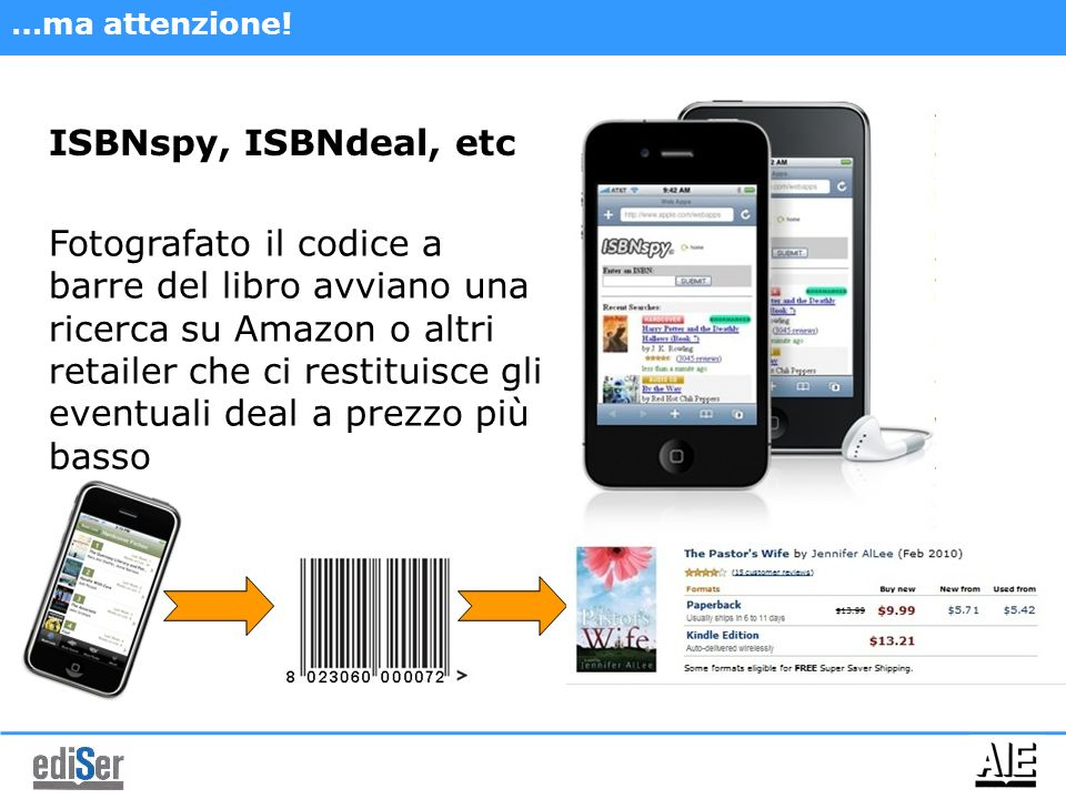 …ma attenzione! ISBNspy, ISBNdeal, etc.