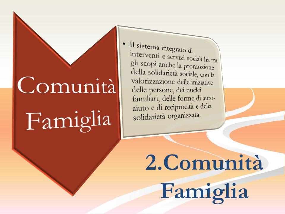 Comunità Famiglia 2.Comunità Famiglia