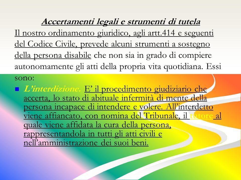 Accertamenti legali e strumenti di tutela