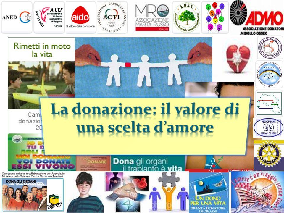 La donazione: il valore di una scelta d'amore