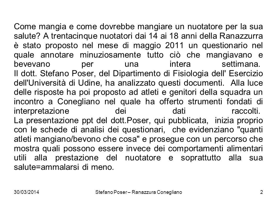 Stefano Poser – Ranazzura Conegliano