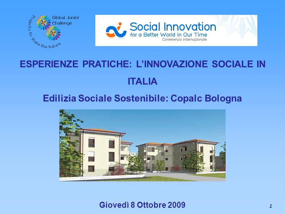 ESPERIENZE PRATICHE: L'INNOVAZIONE SOCIALE IN ITALIA