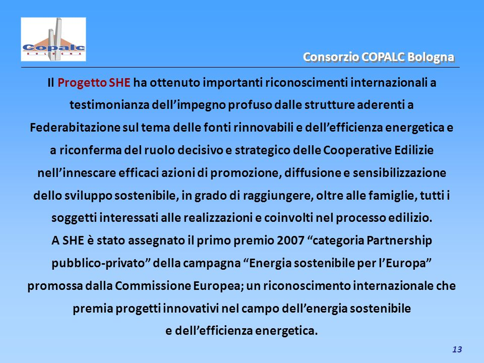 e dell'efficienza energetica.