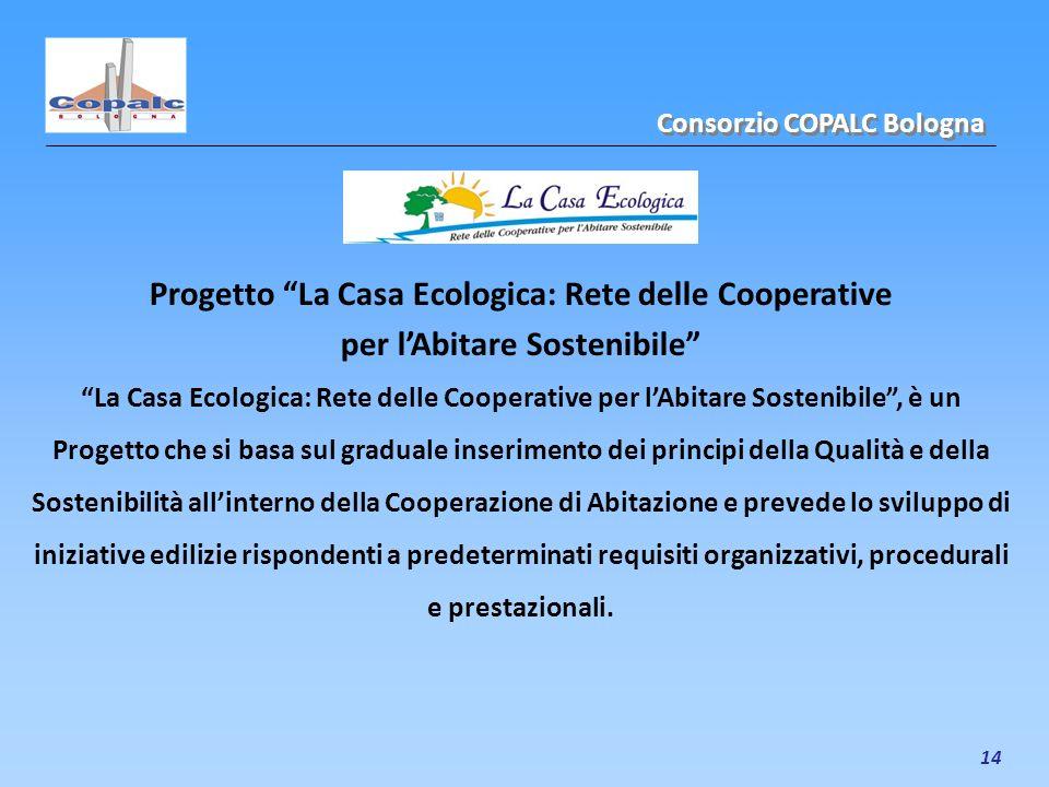 Progetto La Casa Ecologica: Rete delle Cooperative