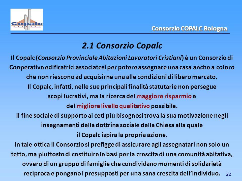 2.1 Consorzio Copalc Consorzio COPALC Bologna