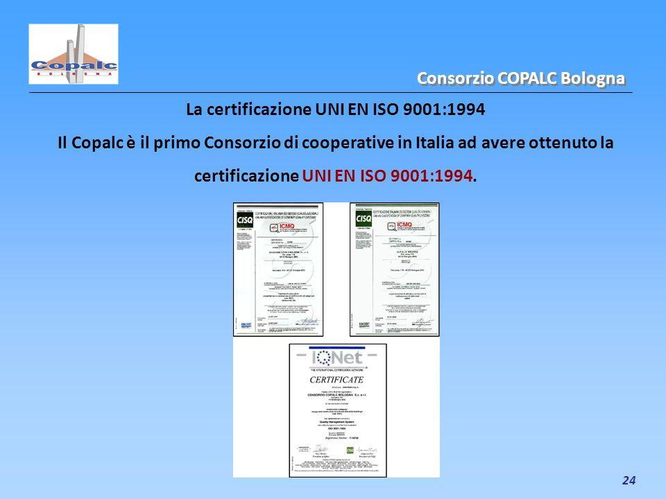 La certificazione UNI EN ISO 9001:1994