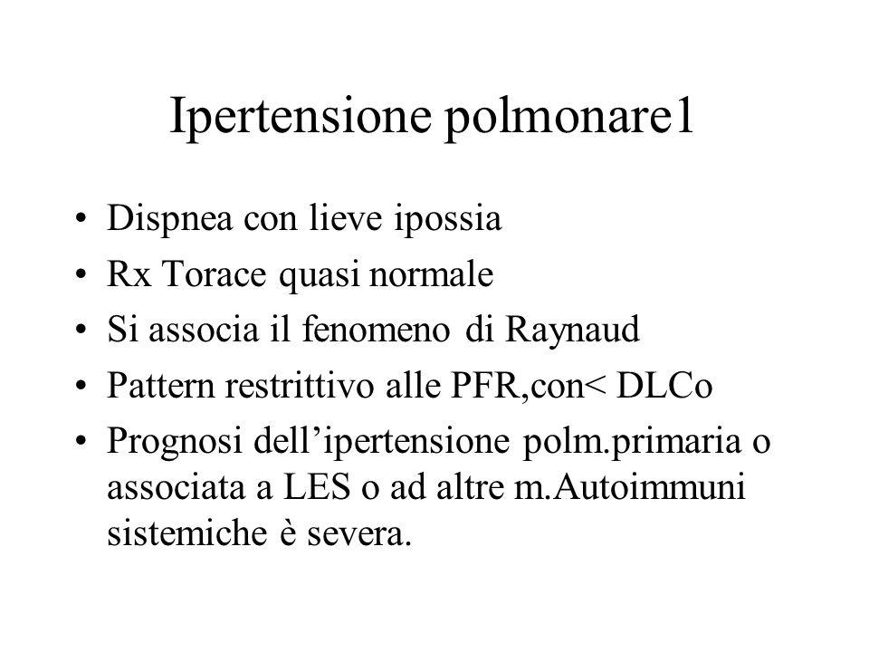 Ipertensione polmonare1