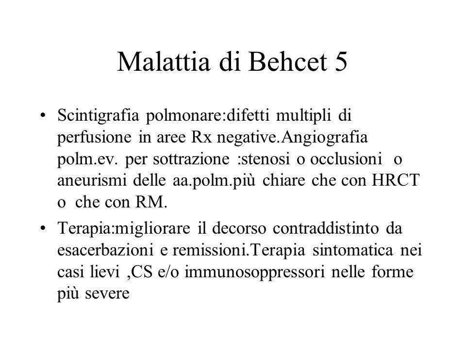 Malattia di Behcet 5