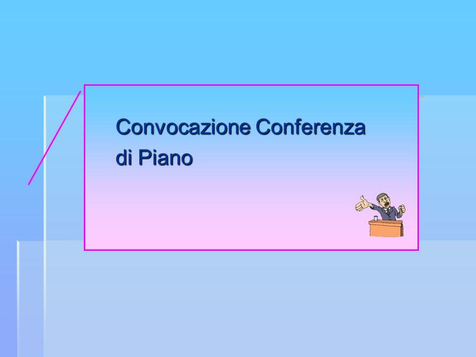Convocazione Conferenza