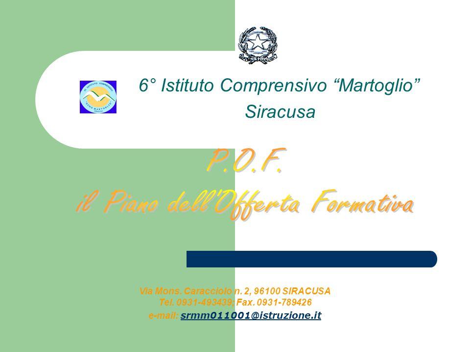 6° Istituto Comprensivo Martoglio Siracusa