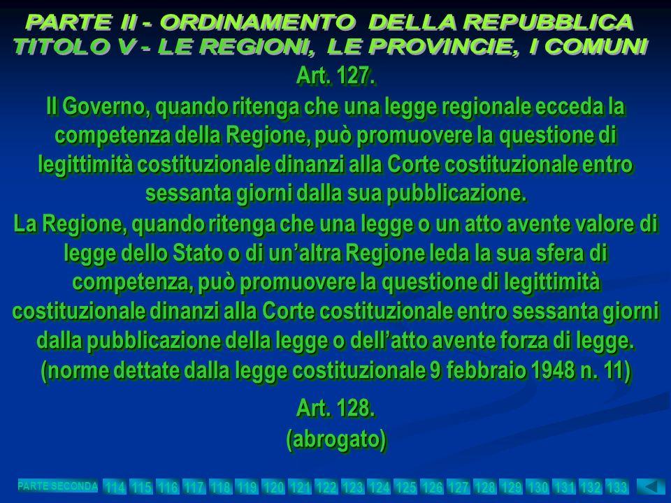 (norme dettate dalla legge costituzionale 9 febbraio 1948 n. 11)
