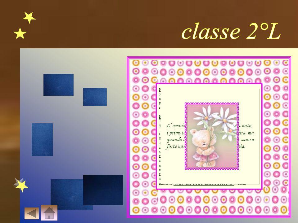 classe 2°L L' amicizia è come un albero appena nato,