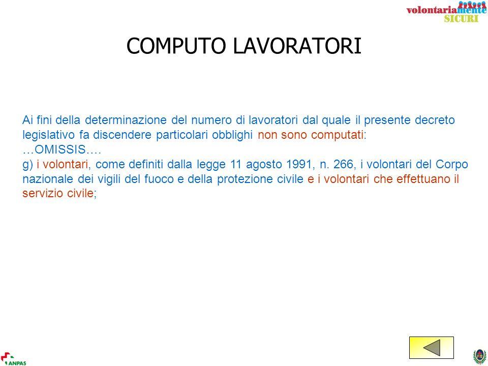 COMPUTO LAVORATORI
