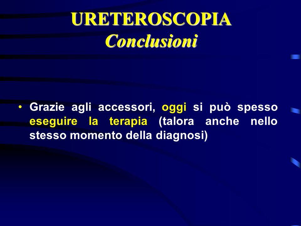 URETEROSCOPIA Conclusioni