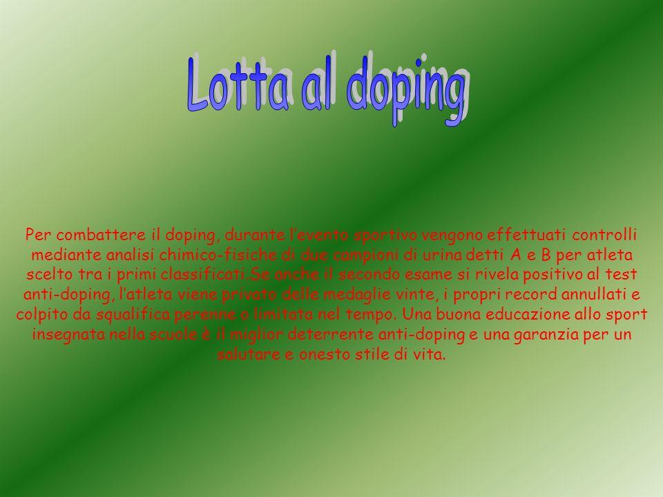 Lotta al doping