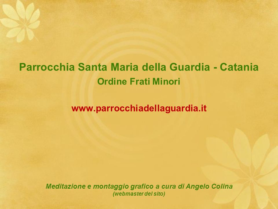 Parrocchia Santa Maria della Guardia - Catania