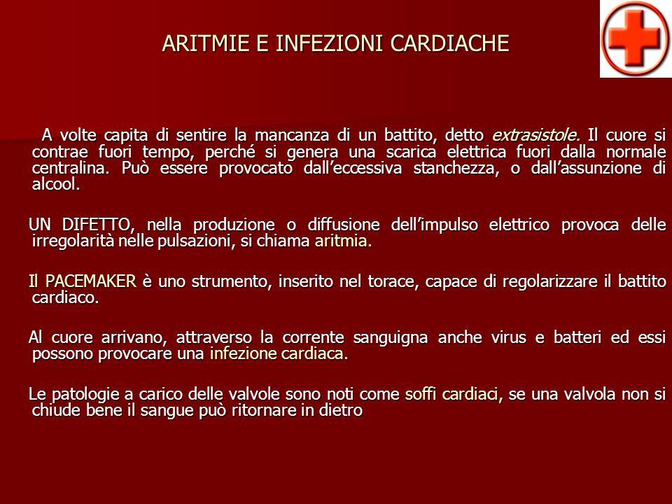 ARITMIE E INFEZIONI CARDIACHE