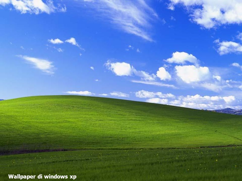 Wallpaper di windows xp