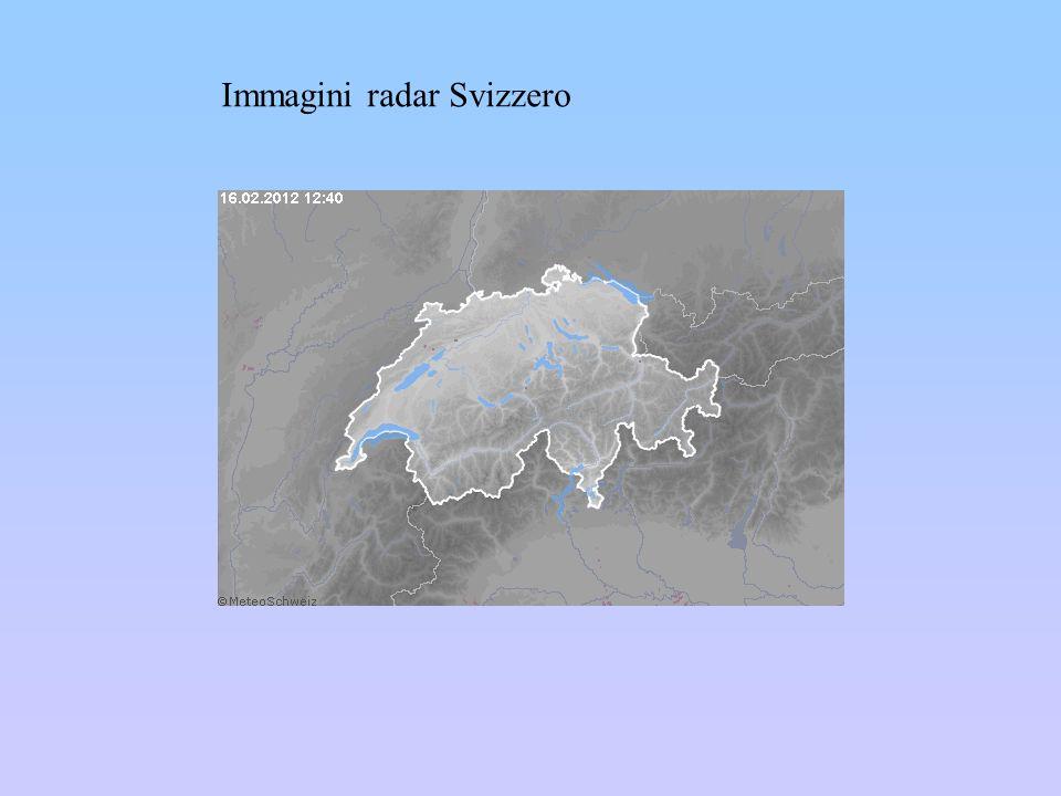 Immagini radar Svizzero
