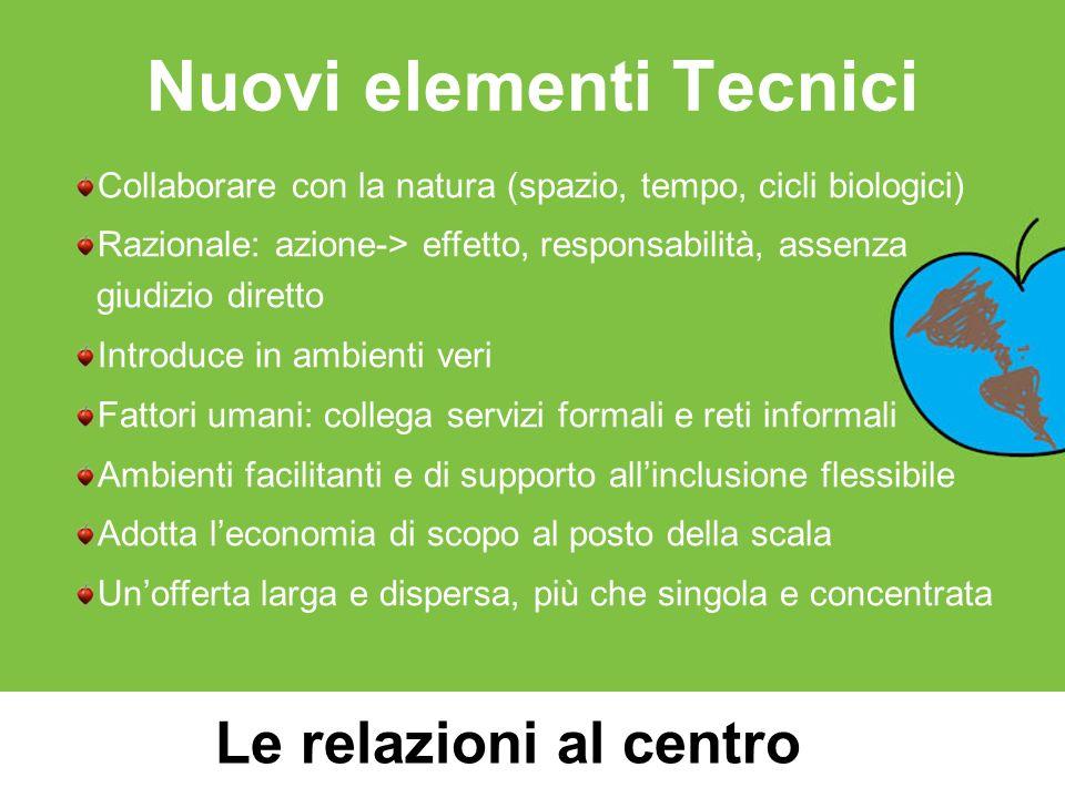 Nuovi elementi Tecnici